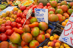 Street market stall Royalty Free Stock Images