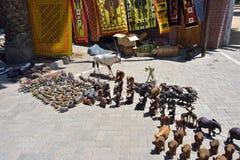 Street market in Swakopmund, Namibia Royalty Free Stock Images