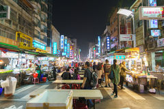 Street market of Taiwan Stock Images