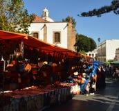 Street market. teror Stock Photos