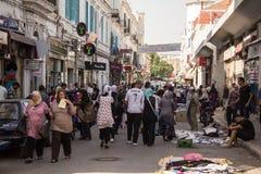 Street market in Tunis Stock Photo