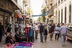 Street market in Tunis Stock Photos