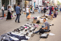 Street market in Tunis Stock Photo