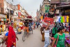 Street market, Varanasi Royalty Free Stock Photo