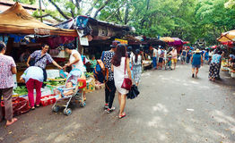 Food market China Royalty Free Stock Photo