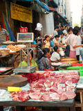 Street Market in Yangon Royalty Free Stock Images