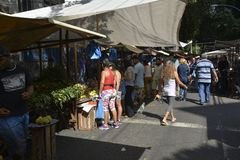 Street Marketplace Royalty Free Stock Photography