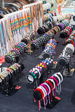 Street markets in Spain Royalty Free Stock Photos