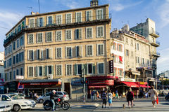 Street in Marseille Stock Photos