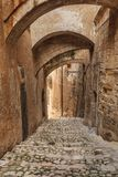Street in Matera, Italy Royalty Free Stock Images