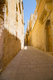 Street in Mdina Stock Images
