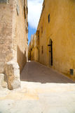 Street in Mdina Royalty Free Stock Images