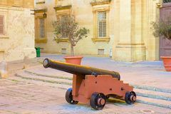 Street of Mdina, Malta Royalty Free Stock Images