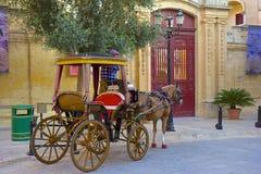 Street of Mdina, Malta. Streets and buildings of Mdina, Malta Royalty Free Stock Photos