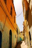 Street in the medina of Sousse, Tunisia Stock Images