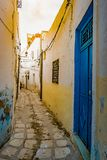 Street in Medina in Sousse, Tunisia. Stock Photography