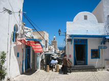 A street in the medina. Sousse. Tunisia Stock Photography