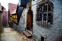 Street in Meissen Stock Images