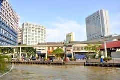 Street of Melaka Stock Photography