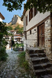 Street in Melnik town, bulgaria Stock Photos