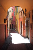 Street of menton Stock Photography