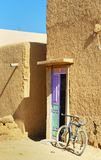On the street in Merzouga village, Morocco Stock Image