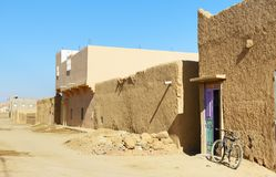 On the street in Merzouga village, Morocco Royalty Free Stock Image