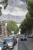 A street in Messina Italy. 