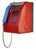 Street telephone / phone (isolated) Royalty Free Stock Images
