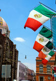 Street in Mexico City Royalty Free Stock Photos