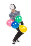 Street mime. Stock Image