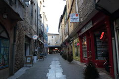 Street of Mirepoix Royalty Free Stock Image