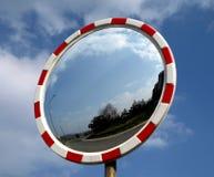 Street mirror Royalty Free Stock Photo