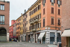 Street in Modena, Italy Stock Photo