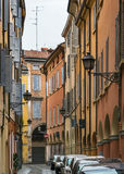 Street in Modena, Italy Royalty Free Stock Photos