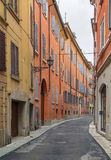 Street in Modena, Italy Stock Photos