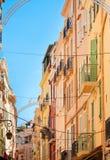 Street of Monaco stock image
