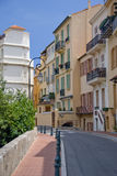 Street of Monaco. View of street from monaco, france Royalty Free Stock Photography