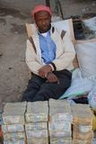 Street money changers of money Royalty Free Stock Photos