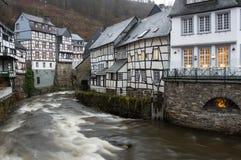 Street of Monschau Royalty Free Stock Photo