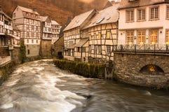 Street of Monschau Stock Photography