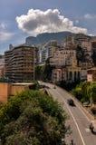 Street of Monte Carlo, Monaco. Monte Carlo, Monaco downtown view Stock Photography