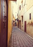 Street in Morocco Royalty Free Stock Images