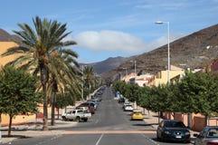 Street in Morro Jable, Fuerteventura Stock Images