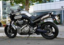 Street motorcycle Royalty Free Stock Images