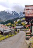 Street of Murren Royalty Free Stock Images