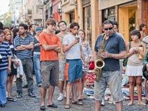 Street Music Royalty Free Stock Photos