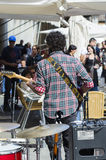 Street music band Stock Photo