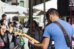 Street music band Stock Photography