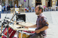 Street music band Royalty Free Stock Photo